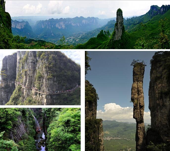 """神农架是我国国家级风景名胜区,1986年,国务院批准神农架为""""国家森林"""